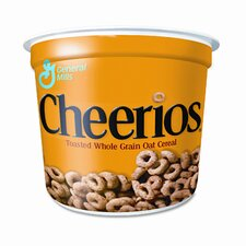 Cheerios Breakfast Cereal, Single-Serve 1.3oz Cup, Six Cups/box