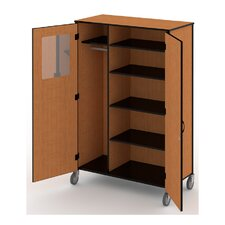 "Standard 36"" Teacher Cabinet with Casters"
