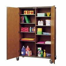 <strong>Fleetwood</strong> Split Storage Cabinet with Casters