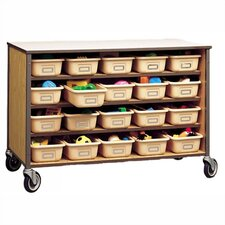 "30"" H Storage Cart with Optional Trays"