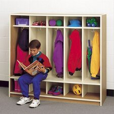 5-Section Children's Locker