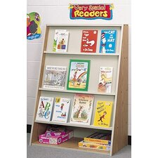 Koala-Tee Book Display Rack with Rear Shelves