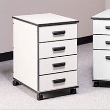 Solutions 4-Drawer Mobile File Cabinet