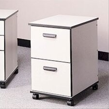 Solutions Two-Drawer Mobile File Cabinet