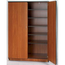 "Illusions 72"" H Teacher Shelf/Drawer Cabinet with Five Adjustable Shelves"