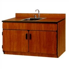 Illusions Base Sink Cabinet with Doors