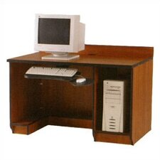 <strong>Fleetwood</strong> Illusions Student Computer Workstation with Keyboard and CPU Storage