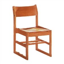 "Library 18"" Wood Classroom Sled Chair"
