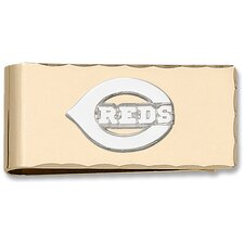 MLB Logo Gold Plated Money Clip