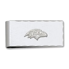 NFL Silvertone Logo Money Clip