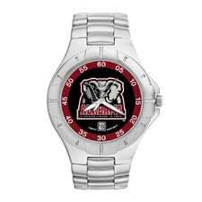 NCAA Men's Pro II Bracelet Watch with Full Color Team Logo Dial