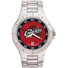 NBA Men's Pro II Bracelet Watch with Full Color Team Logo Dial