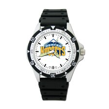 NBA Team Logo Watch with Rubber Strap