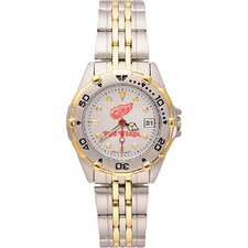 <strong>LogoArt®</strong> NHL Ladies All Star Bracelet Watch with Team Logo Dial