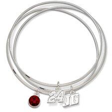 NASCAR Driver Triple Bangle Bracelet