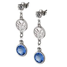 NBA Logo Crystal Earrings