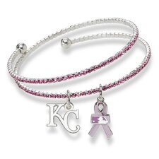 MLB 2013 Breast Cancer Awareness Support Charm Bracelet