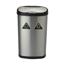 13.2 Gallon Motion Sensor Recycle Trash Can