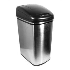 11 Gallon Stainless Steel Infrared Trash Can