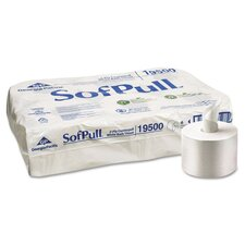 <strong>Sofpull</strong> High Capacity Center Pull Toilet Tissue (Pack of 6)