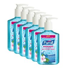 8 oz. Ocean Kiss Hand Sanitizer (Set of 6)