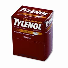 <strong>Tylenol</strong> Extra-Strength Pain Reliever Refill, 50 Two-Packs per Box