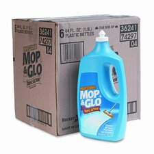 <strong>Mop & Glo</strong> Triple Action Floor Cleaner, 64 oz., 6/Carton