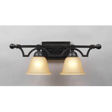 <strong>PLC Lighting</strong> Coronado 2 Light Vanity Light