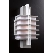 <strong>PLC Lighting</strong> Carre 1 Light Outdoor Wall Lantern