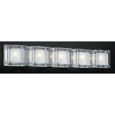 <strong>PLC Lighting</strong> Corteo 5 Light Vanity Light