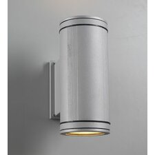 Meridian 2 Light Outdoor Wall Sconce