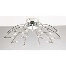 Trundle 15 Light Semi Flush Mount