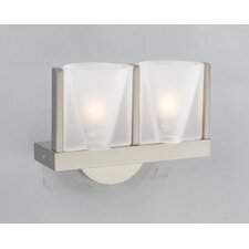 <strong>PLC Lighting</strong> Carmen 2 Light  Wall Sconce