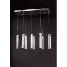 <strong>PLC Lighting</strong> Segretto 8 Light Pendant