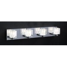 <strong>PLC Lighting</strong> Glacier 4 Light Vanity Light