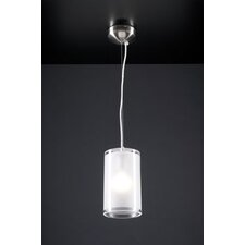 <strong>PLC Lighting</strong> Damask 1 Light Mini Pendant
