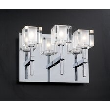<strong>PLC Lighting</strong> D'oro  3 Light Wall Sconce