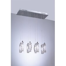 <strong>PLC Lighting</strong> Pila 8 Light Pendant