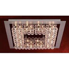 <strong>PLC Lighting</strong> Petula 36 Light Semi Flush Mount