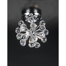 Aspasia 6 Light Semi Flush Mount