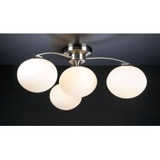 Aosta 4 Light Semi Flush Mount