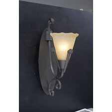 <strong>PLC Lighting</strong> Versailles 1 Light Wall Sconce