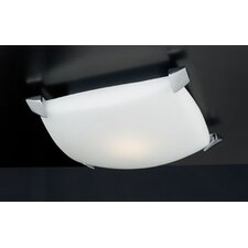 Vizio 1 Light Semi Flush Mount