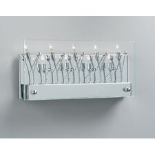 <strong>PLC Lighting</strong> Lief 9 Light Wall Sconce