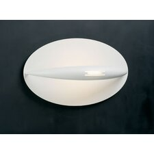 <strong>PLC Lighting</strong> Moon  1 Light Wall Sconce