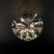 Martini 13 Light Semi Flush Mount