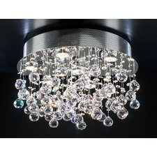 Beverly 7 Light Semi Flush Mount