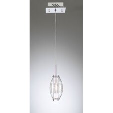 <strong>PLC Lighting</strong> Wrap 1 Light Mini Pendant