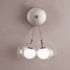 Hydrogen  2 Light Wall Sconce