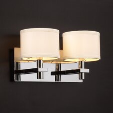 <strong>PLC Lighting</strong> Concerto 2 Light Vanity Light